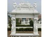 Fangshan White Marble House Look